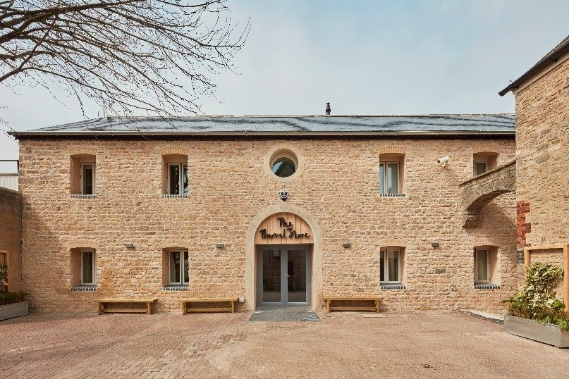 200 year old warehouse converted to first Passivhaus hostel in the UK