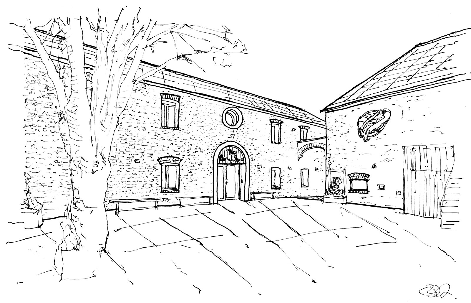 200 year old warehouse converted to first Passivhaus hostel in the UK - illustration